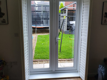 French doors installed in Caerphilly and Newport this week