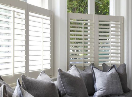 Bay Window Plantation Shutters
