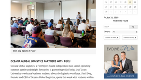 Gulfshore Business - Oceana Global Logistics Partners with FGCU
