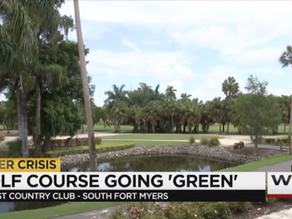 Wink News - The Forest Country Club Golf Course Going 'Green'