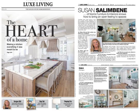 Luxe Living Designer Q A Susan Salimbene Of Norris Furniture