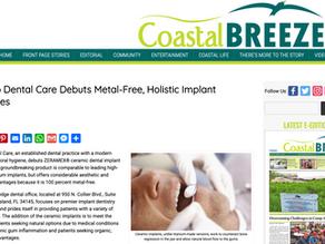 Coastal Breeze News - Marco Dental Care Debuts Metal-Free, Holistic Implant Services