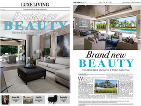 Luxe Living - Brand New Beauty from Norris Furniture & Interiors