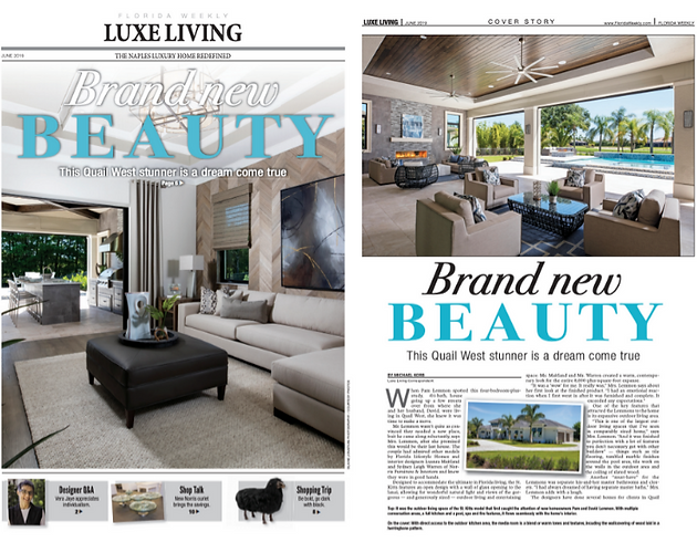 Luxe Living Brand New Beauty From Norris Furniture Interiors