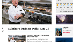 Gulfshore Business - The Forest Country Club Hires Executive Chef