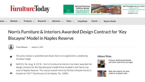 Furniture Today - Norris Furniture & Interiors Awarded Design Contract for 'Key Biscayne&#39