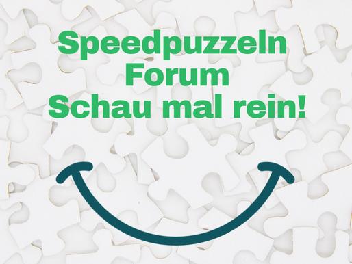 Speedpuzzeln Forum