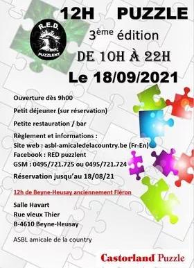 Puzzle-Wettbewerb: 12h von Beyne-Heusay