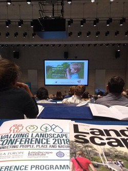 Landscape Institute Conference 2018