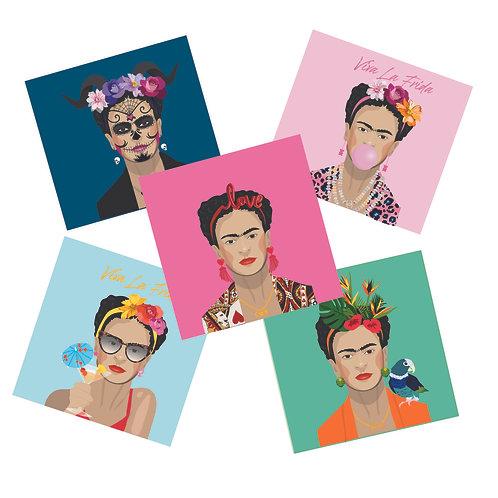 5 x Freda Kahlo Pack
