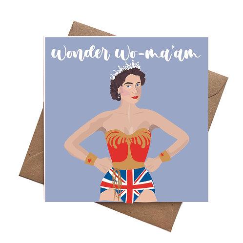 Wonder Woma'am Queen Elizabeth