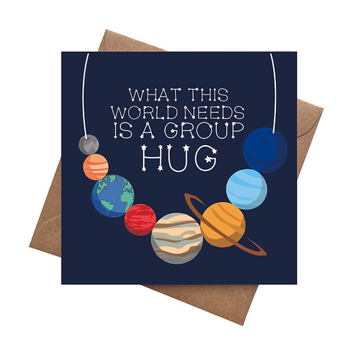 What the World Needs Now is a Hug