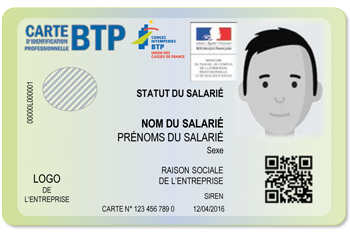 Exemple de carte btp