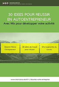 Tutoriel pdf : autoentrepreneur domicile