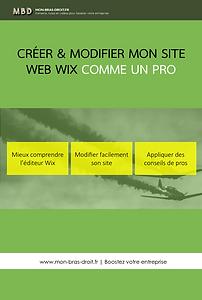 Tuto : Modifier mon site wix