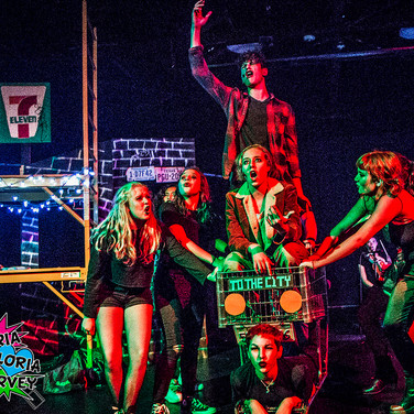 Green Day's American Idiot performed by Bay Area Zeta Players