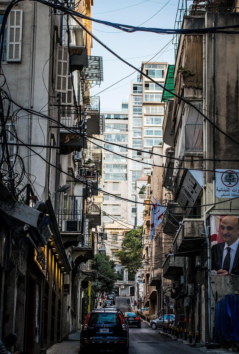 Alleyway on Gourad Street, Gemmayzeh, Beirut