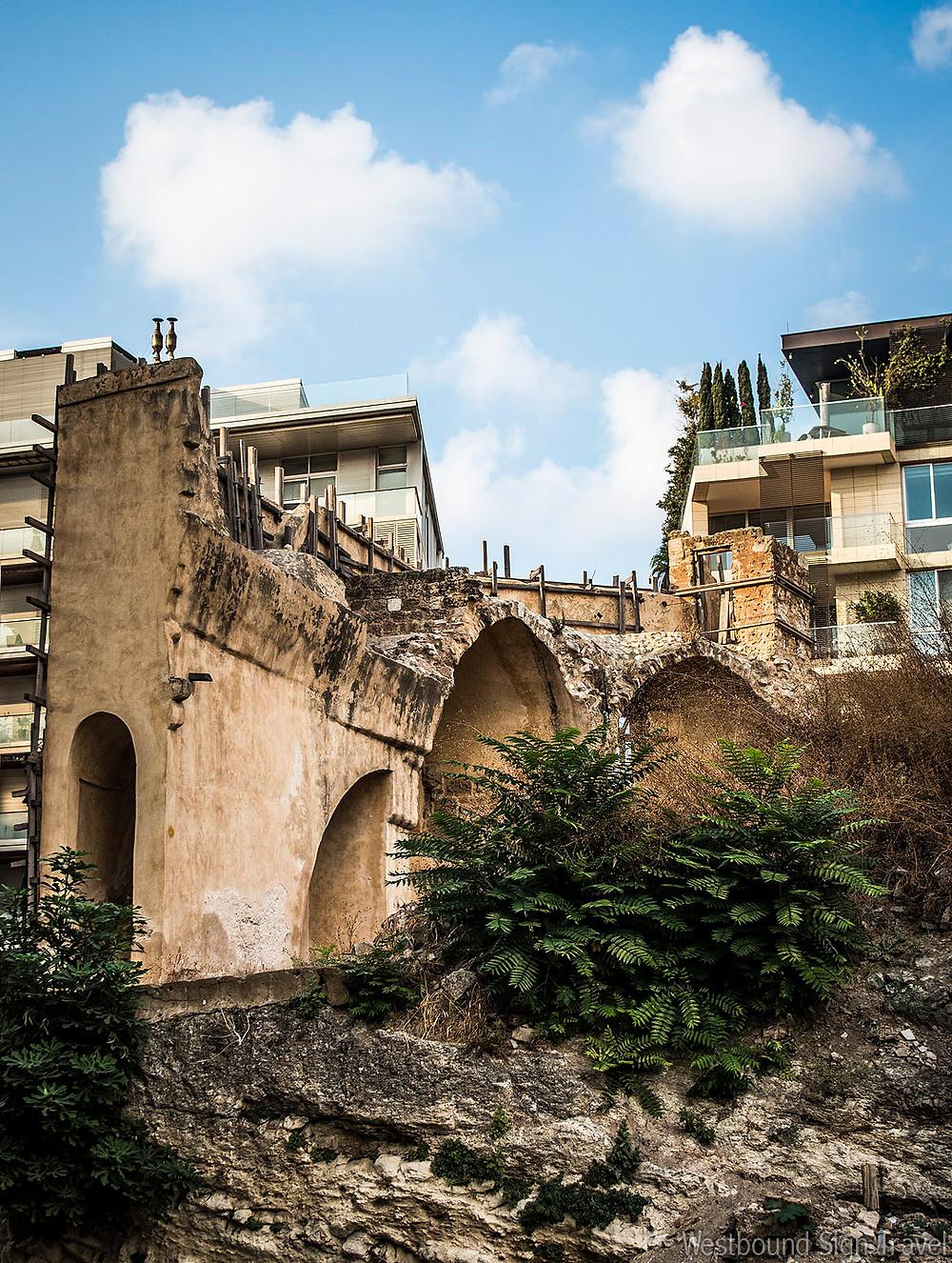 Ancient Tell Area, Beirut, Lebanon