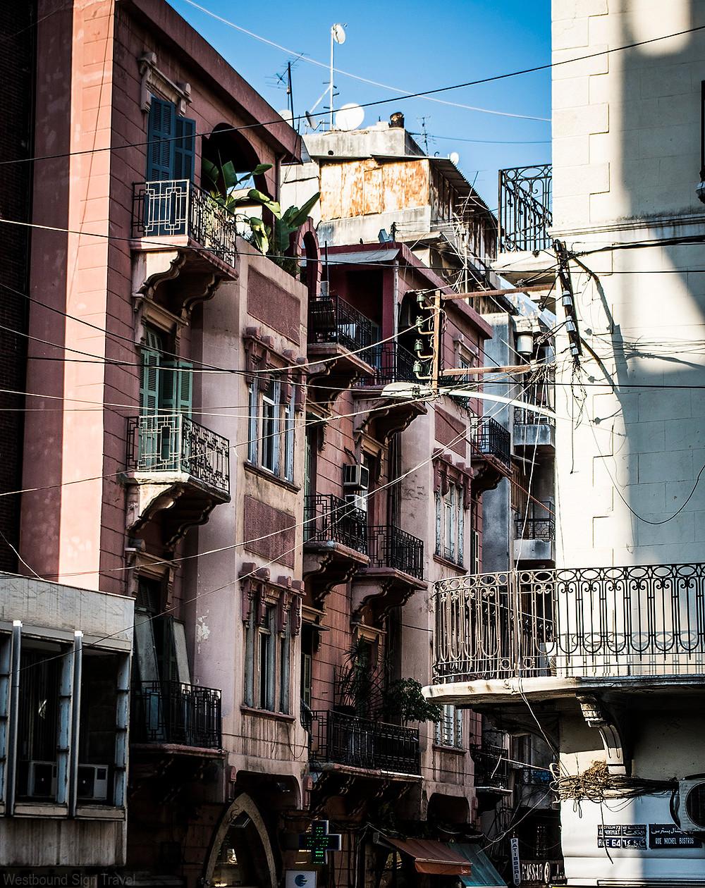 Gemmayzeh, Beirut streets
