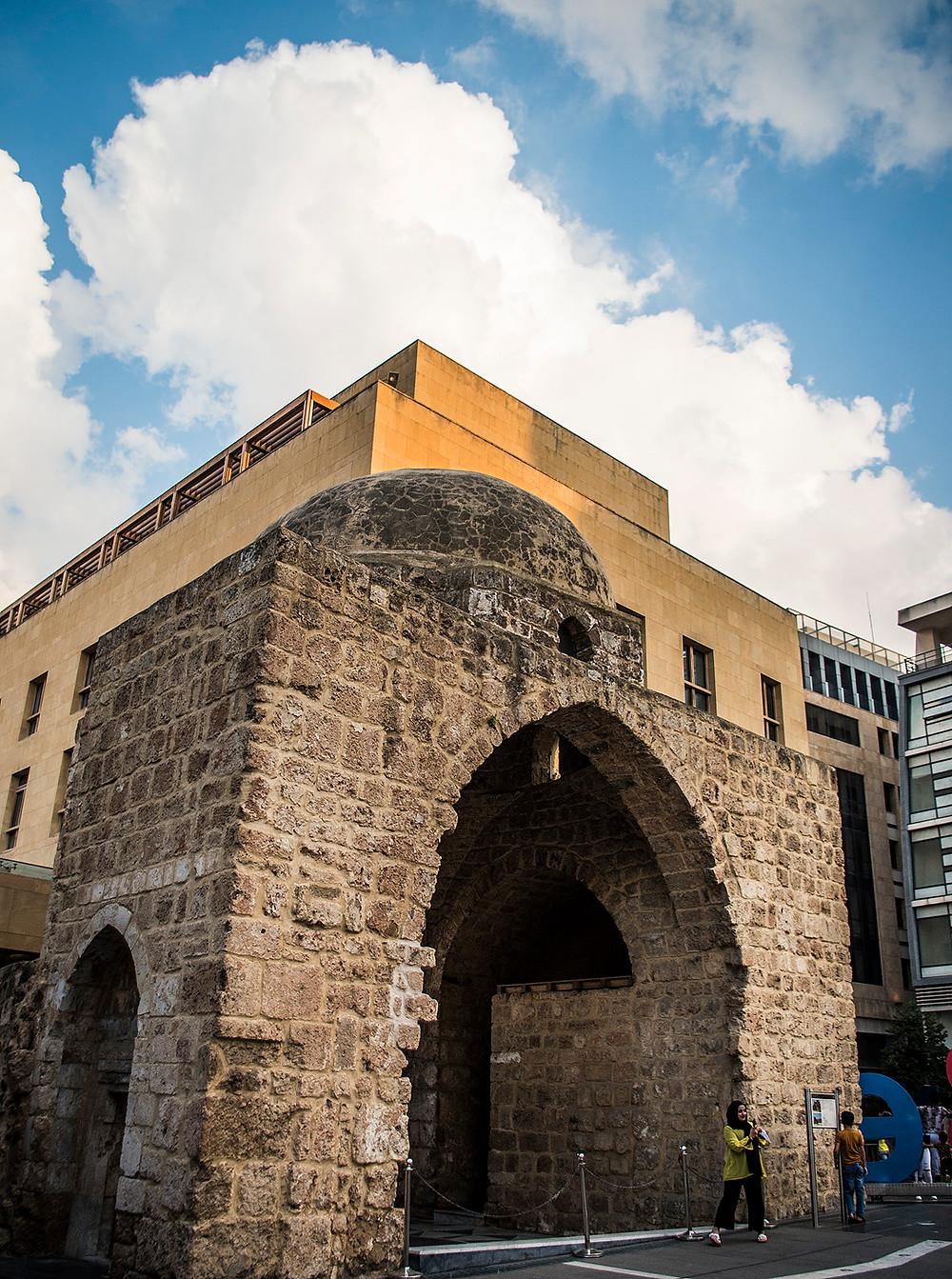Zawiyat Ibn Arraq in Imam Ouzai Square, Beirut