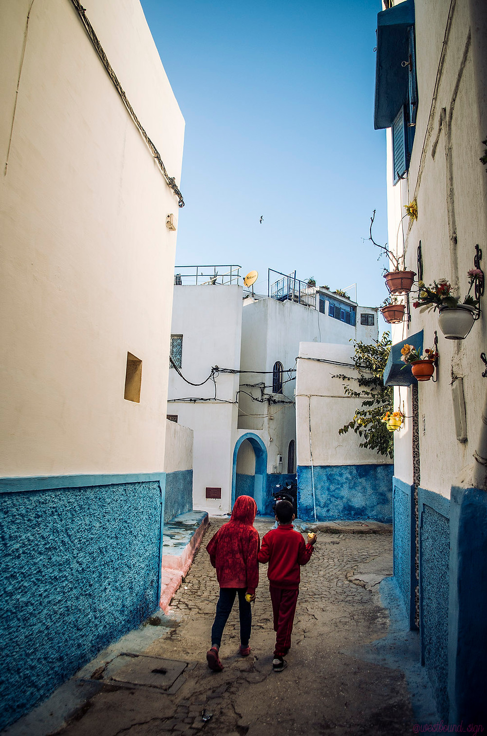 Blue Kasbah of the Udayas, Rabat, Morocco
