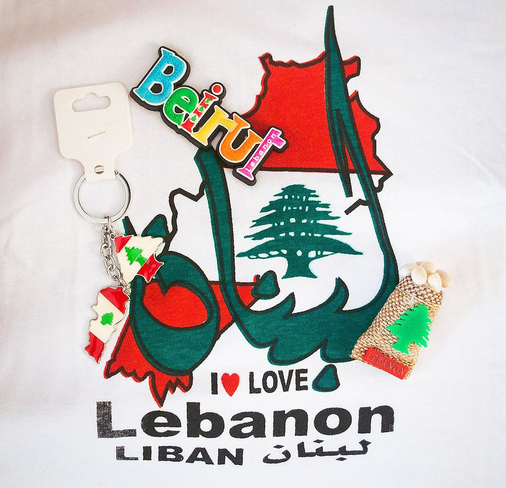 Lebanon souvenirs