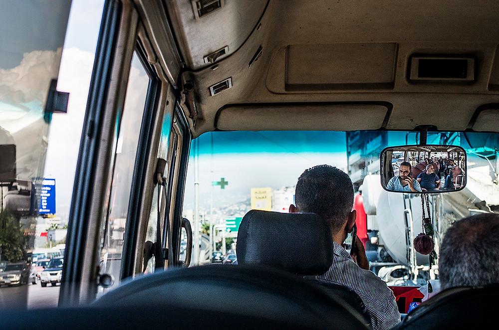 Beirut public bus