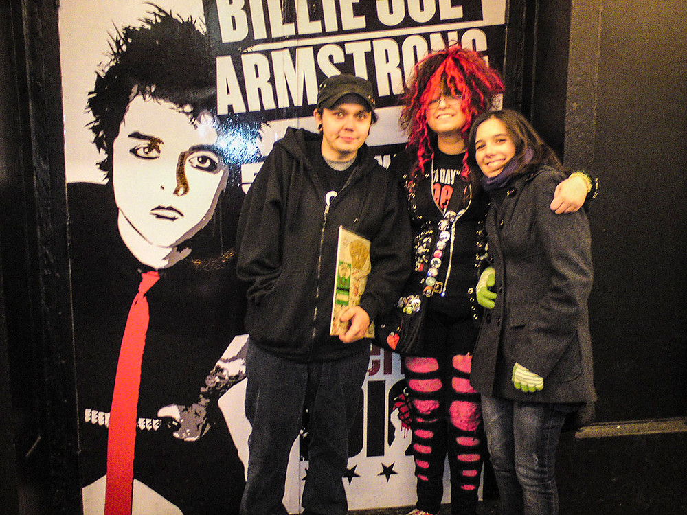 Green Day fans American Idiot on Broadway