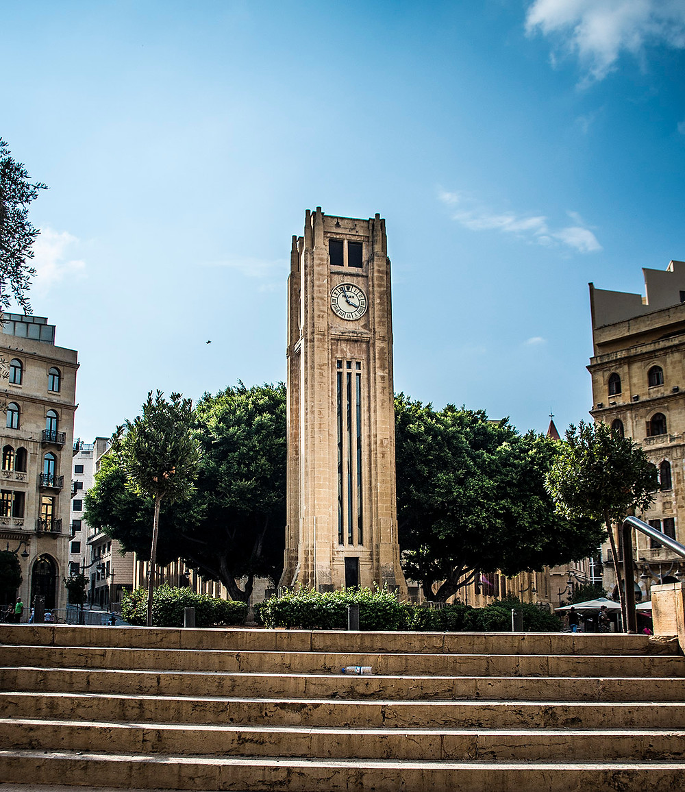 Clock Tower, Nejmeh Square, Beirut
