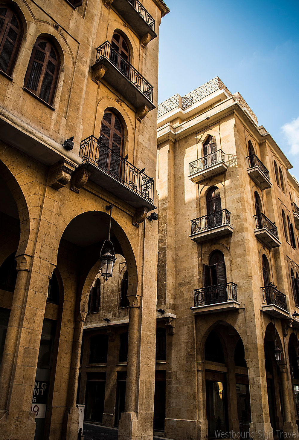 Streets of downtown Beirut, Lebanon