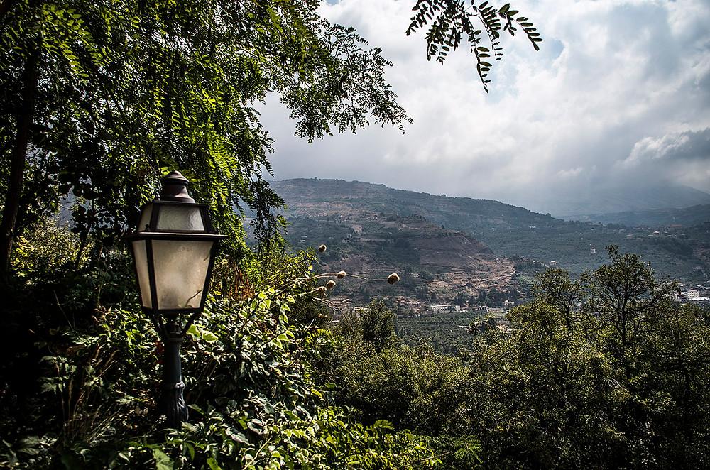 View over Bsharri, Lebanon