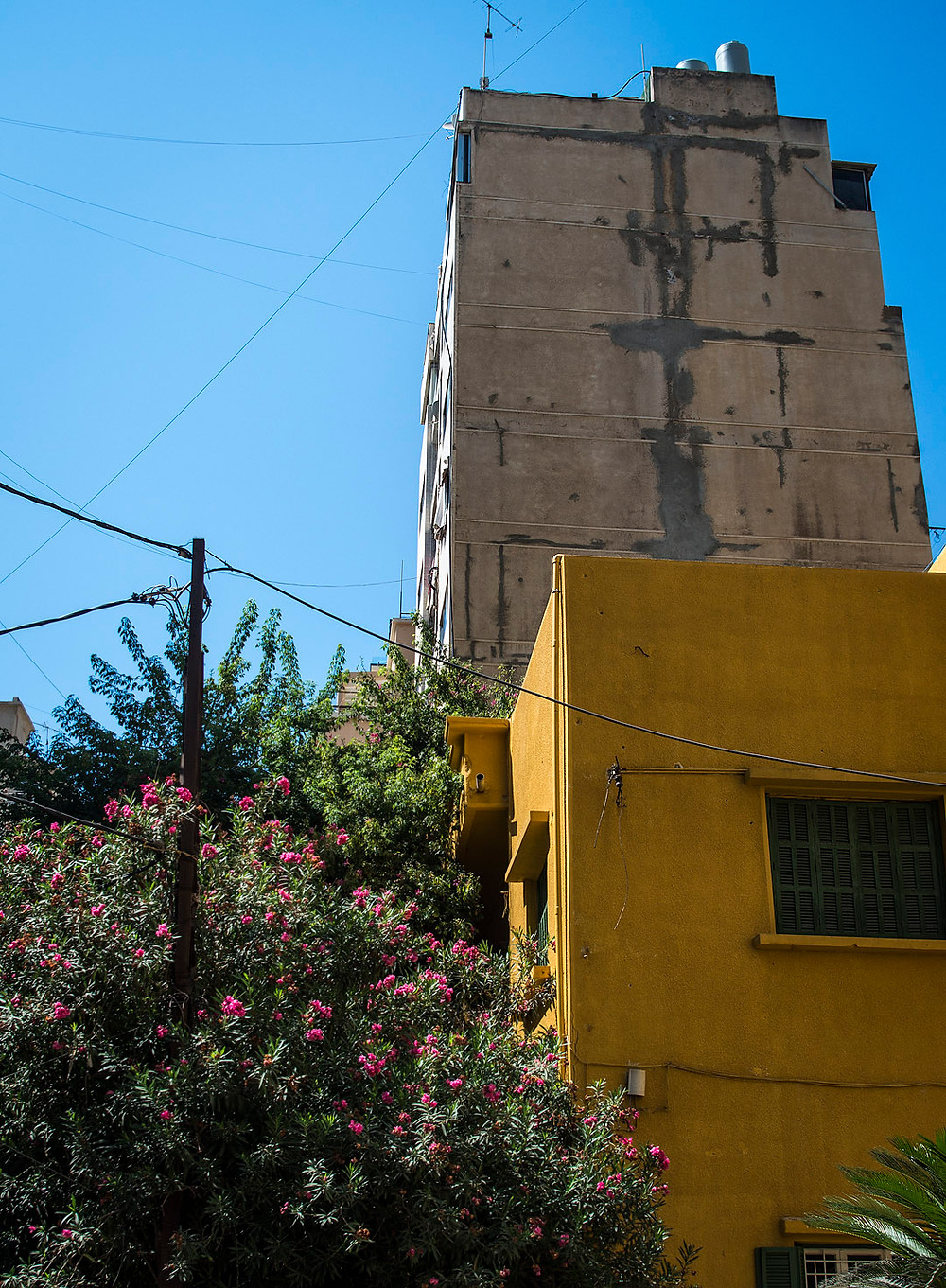 Yellow house in Hamra, Beirut