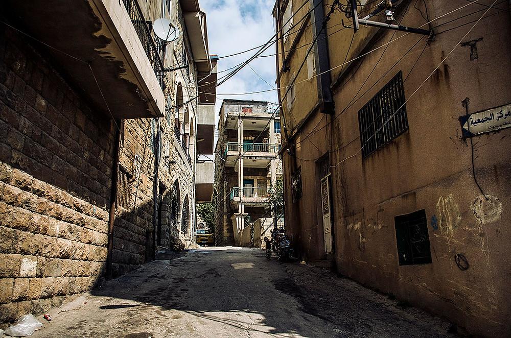 Bsharri, Lebanon streets
