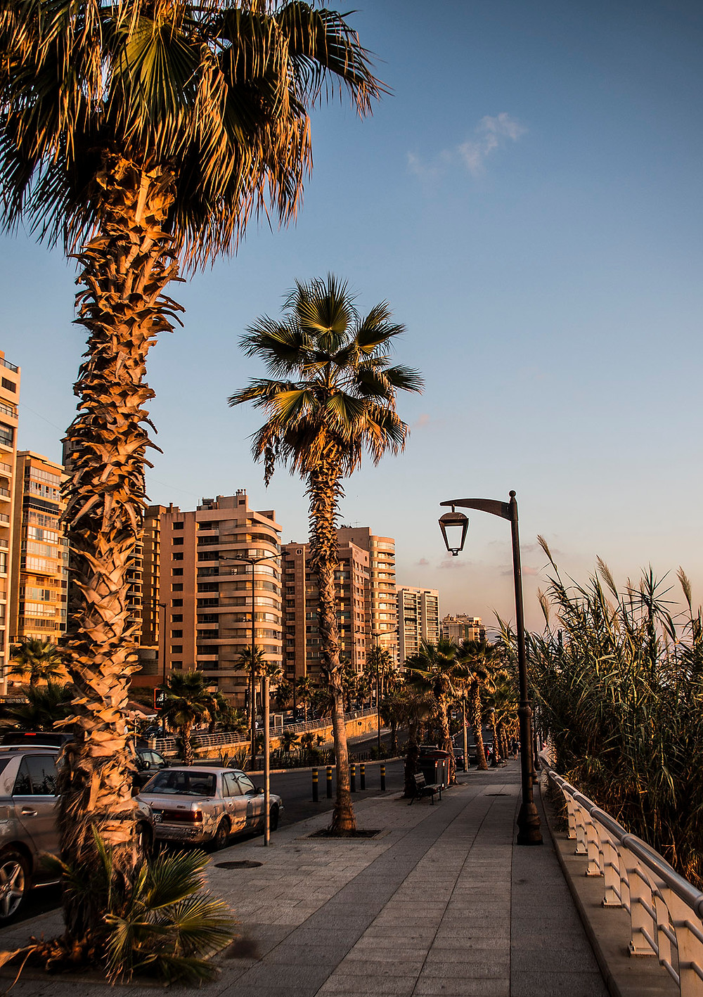 Raouche, Beirut streets