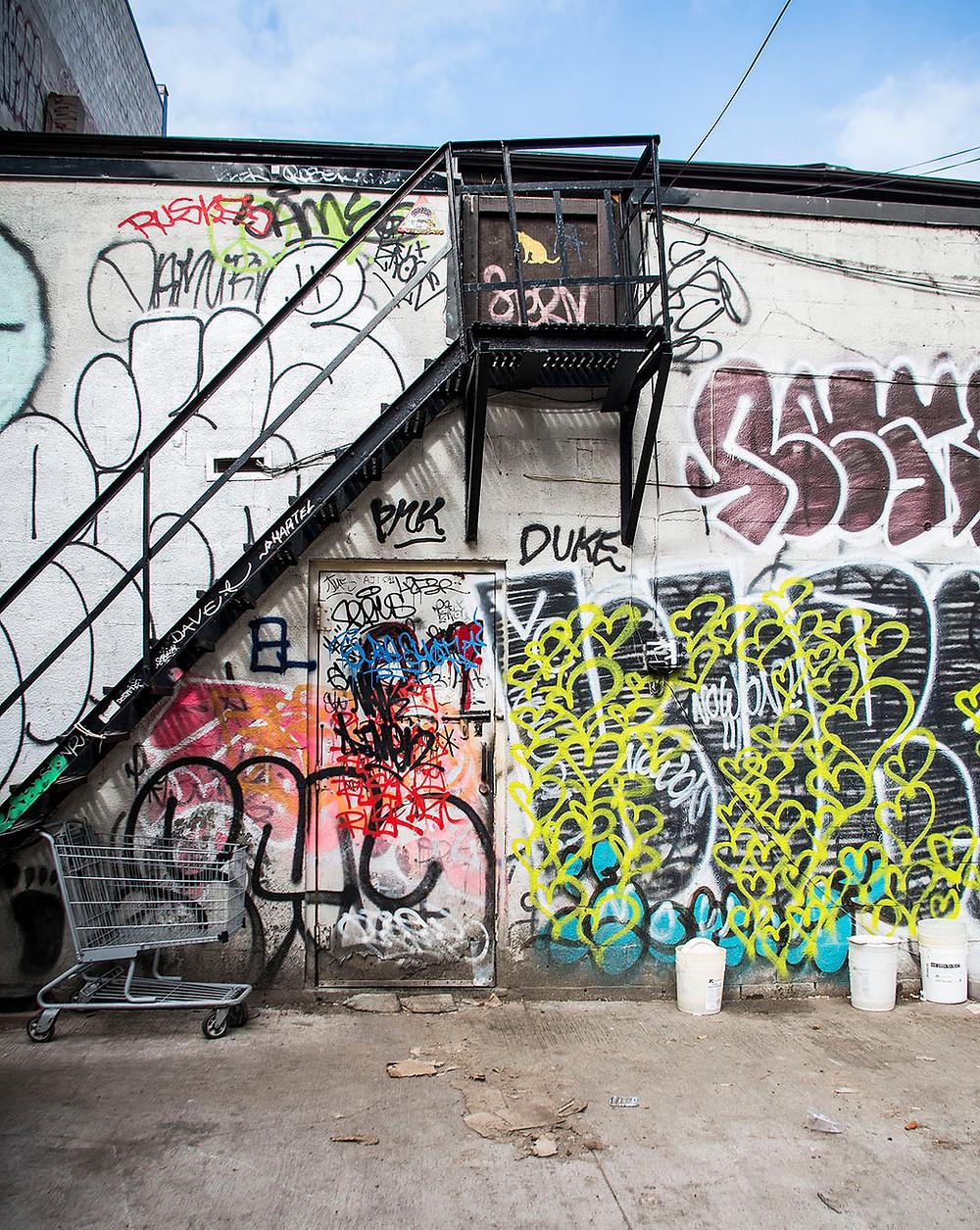 Graffiti Alley Toronto 2018