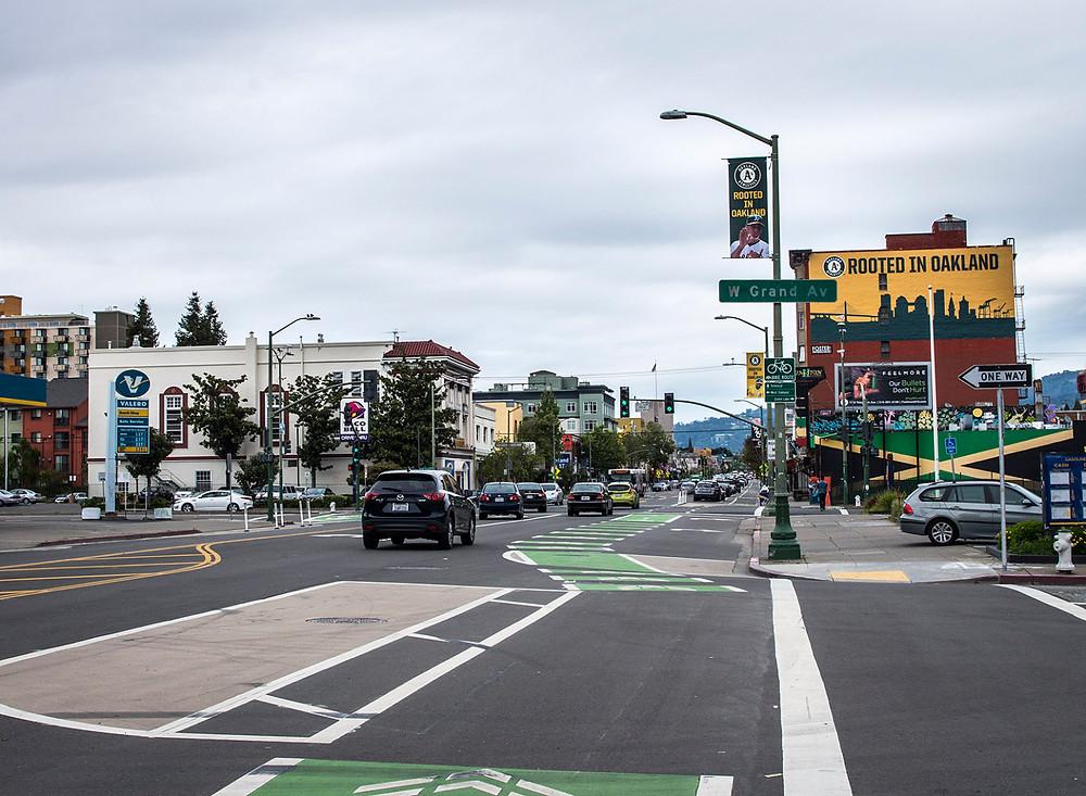 Oakland, CA streets