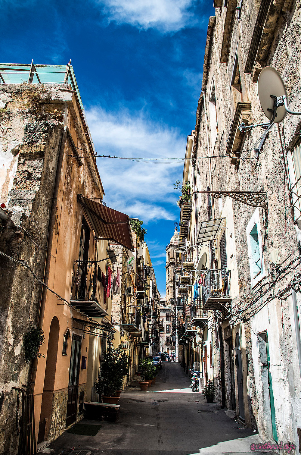 Palermo, Sicily streets