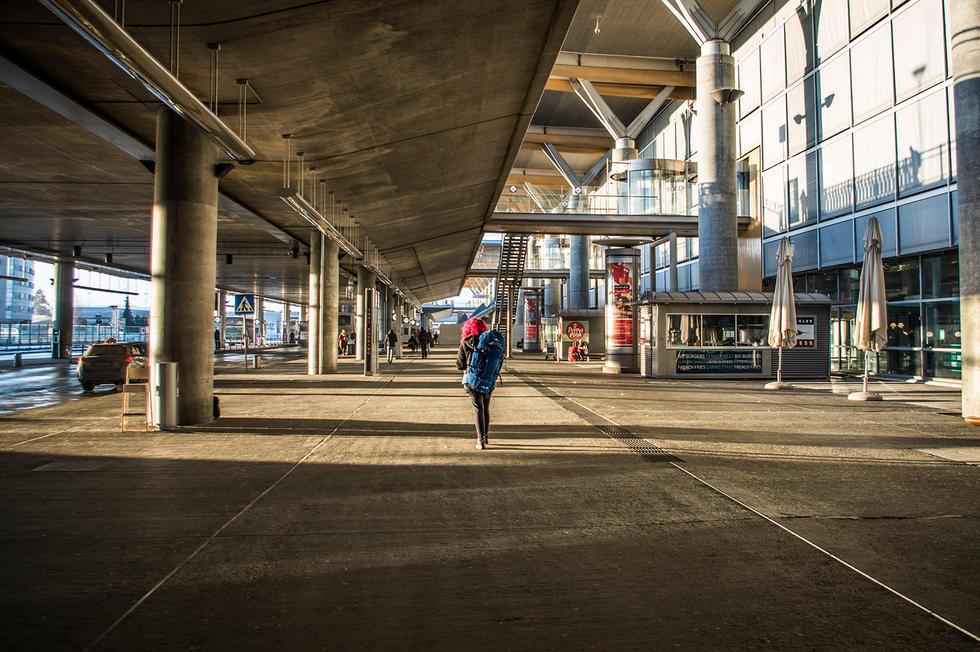 Morning at Oslo Airport