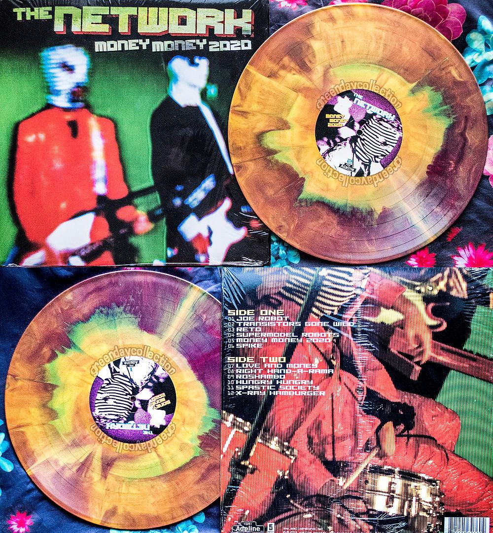 The Network Money Money 2020 rainbow splatter Adeline vinyl