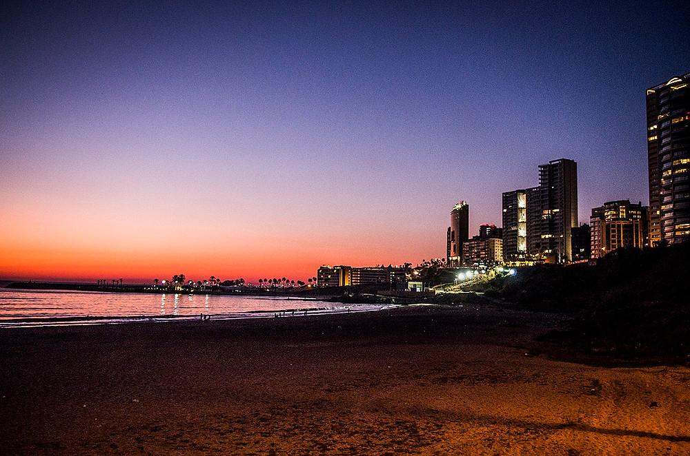 Beirut, Lebanon sunset