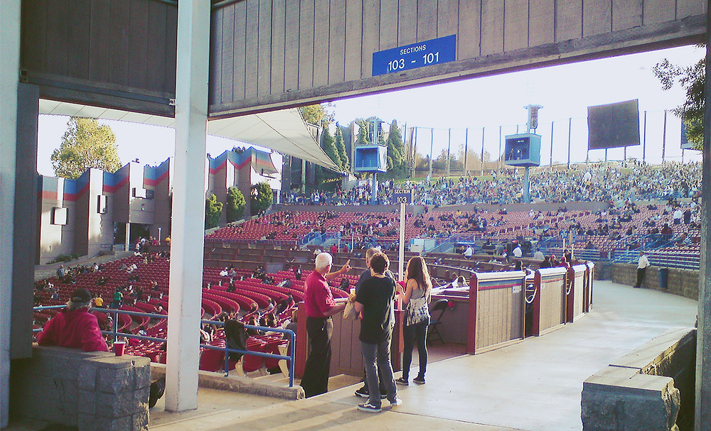 Shoreline Amphitheatre, Mountain View, CA