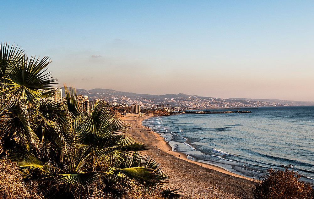Ramlet al-Baida Beach, Beirut, Lebanon