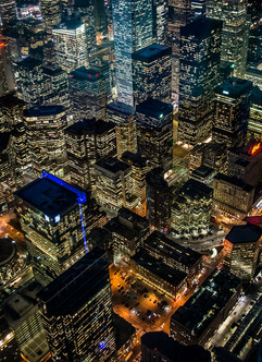 Toronto City Lights