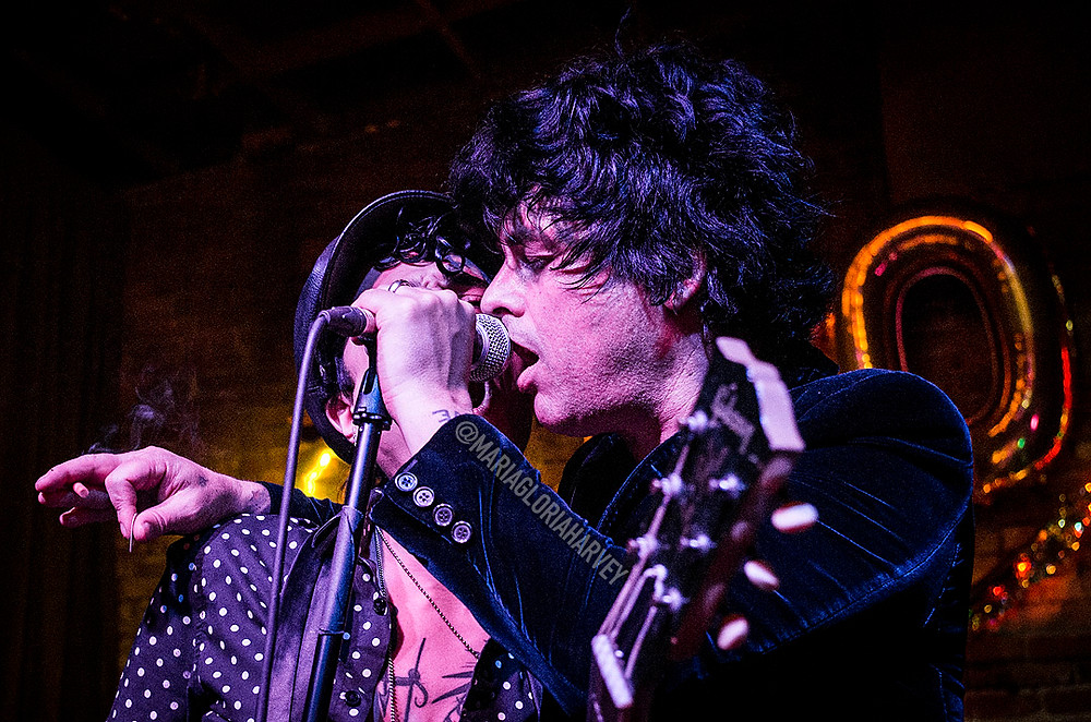 Billie Joe Armstrong with The Longshot on New Year's Eve