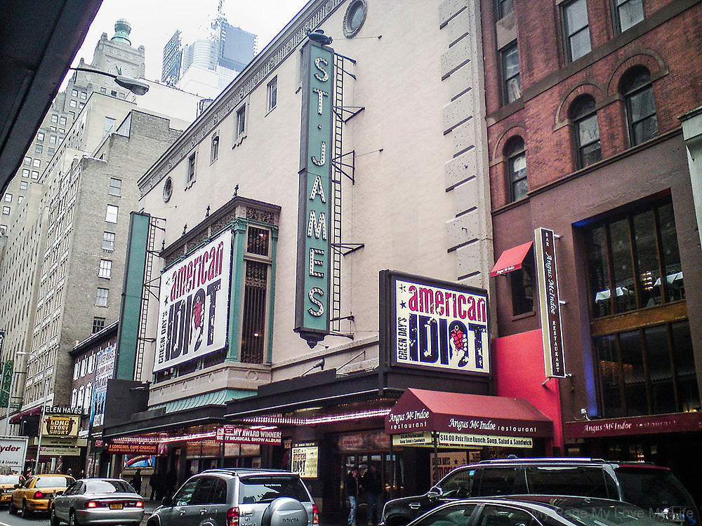 Green Day American Idiot St James Theater