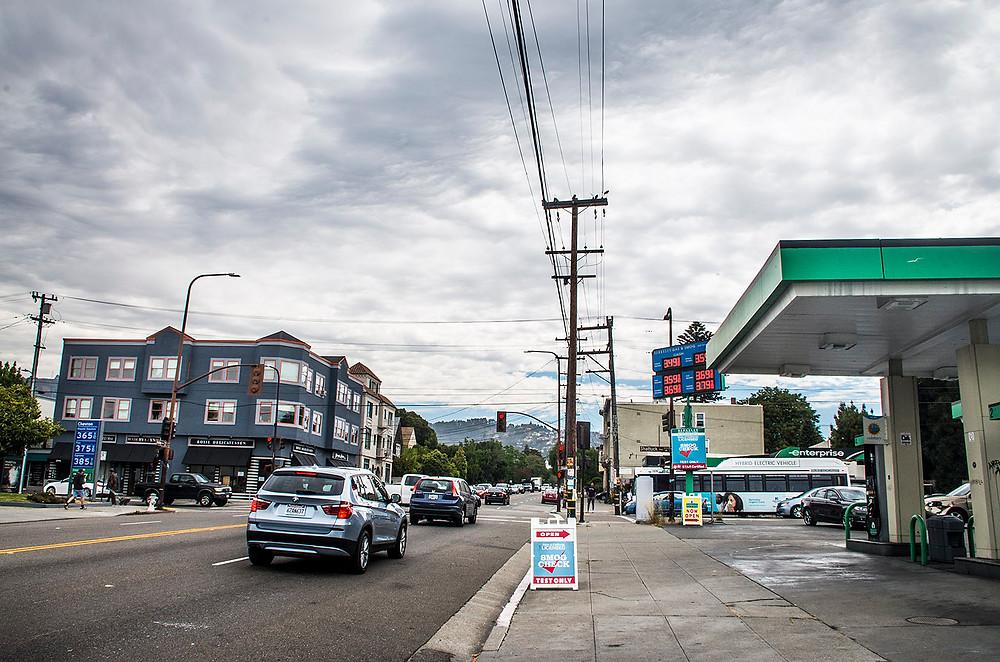 Ashby Avenue Berkeley CA