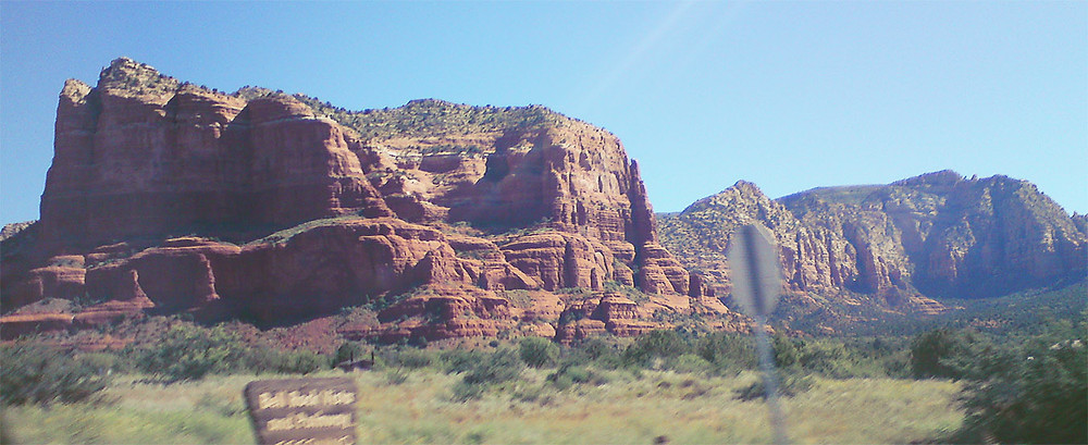 On the road to Sedona, AZ