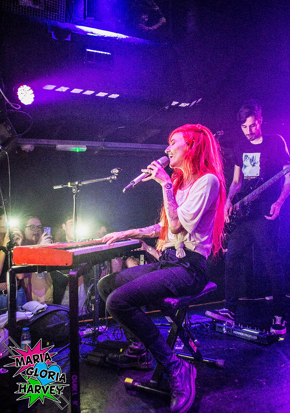 Lights live at Thekla, Bristol, 27 May 2019