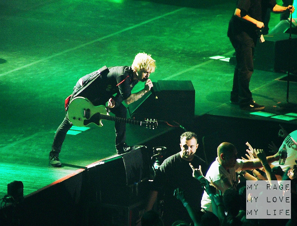 Green Day live in Birmingham on the 21st Century Breakdown Tour