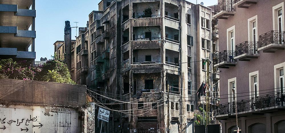 Beirut, Lebanon streets